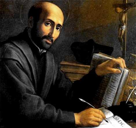 San Ignacio de Loyola -  Fundador de la Orden de los Jesuitas: la Compañía de Jesús.
